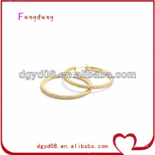 (WS3638)316L Stainless steel jewelry Hoop earrings for ears