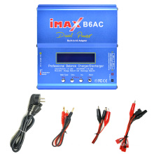 Professional balance charger/discharger 80W/6A iMAX for all your battery packs Nimh nicd li-ion lifepo4