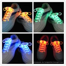 Leuchten Sie LED Schnürsenkel Flash Party Disco Schuhschnüre