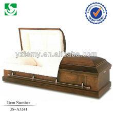 Qualificado bem escultura caixão cremação religiosa de papelão