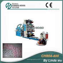 Machine d'impression de 4 couleurs à imprimé Flexo (CH804-400)