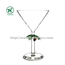 Single Wall Wine Glass by SGS (DIA12*18)