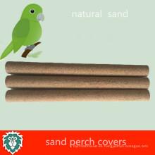 Cubiertas de perca de arena respetuosas del medio ambiente de la jaula de pájaro del animal doméstico