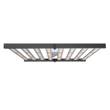 Luz de cultivo LED plegable de 8 barras 640W