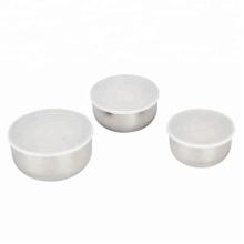 Caixa de recipiente de alimento de aço inoxidável acessível reutilizável