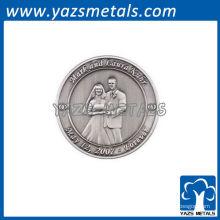 Monedas conmemorativas de encargo de la boda