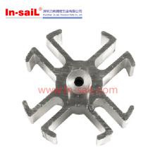 Pièces de fraisage de rotation d'usinage en métal de fabricant d'OEM de la Chine