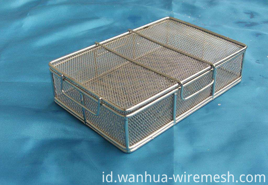 Hospital disinfection surgery SS basket (1)