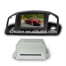 Navegador de carro dual core HD para OPEL Insignia / Buick Regal com GPS / 3G / DVD / Bluetooth / IPOD / RMVB / RDS