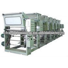 ASY-A600 automatic different Color rotogravure Printing machine
