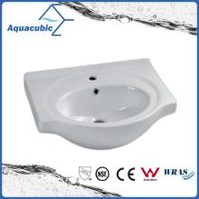 Banheiro semi-embutido Banheiro lavatório lavatório lavatório de mão (ACB4460)