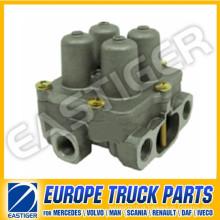 Peças de caminhão da válvula de proteção 9347141280 para Scania 4 Series