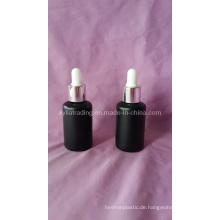 30ml Schwarz Farbe Glas ätherisches Öl Flasche (KLC-8)