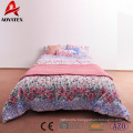 200gsm cotton filling quilts set,100% polyester microfiber quilts for home