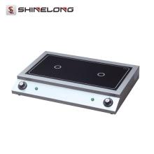 Cocina de inducción comercial eléctrica de sobremesa de la venta caliente 2017 de ShineLong