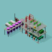 Equipo automático de refinería de petróleo crudo en venta
