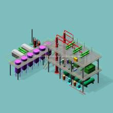 Автоматическое оборудование для переработки сырой нефти на продажу