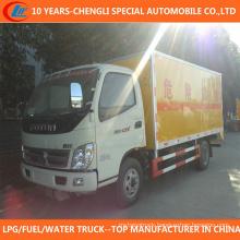 6tons 8tons Dangerous Goods Transport Van Truck for Sale
