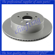 MDC2250 DF6063 42431-30290 best disc brake rotors for lexus gs