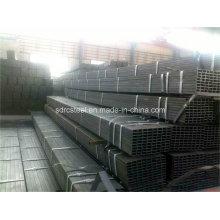 Tuyau en acier recuit noir carré de 20 mm * 20 mm