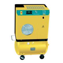 Compresseur d'air à vis 4kW ~ 11kW avec réservoir d'air (SEC4A ~ SEC11A)