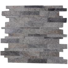 Hot Sale Wall Background Decorative Natural Quartzite Mosaic Tile