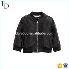 Blank hohe Qualität Bomber Jacke junge stilvolle Mode Kinder Mantel