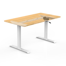 Electric standing height adjustable desk