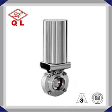 Wenzhou Pneumatic Stainless Steel Ss316 Sanitary Butterfly Valve