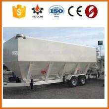 SDDOM Tipo superior da roda horizontal tipo fabricantes do silo do cimento, silo móvel do cimento à venda