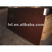 Gule impermeable con contrachapado de película marrón