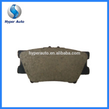 Low Metal Friction Coefficient D692A/7286 Auto Bremse Brake Pad Production Process Brake Pad