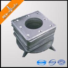 Placa quadrada da extremidade da pilha da tubulação com bom preço 400mm-600mm