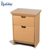 Armário de papel do assoalho do conjunto quatro com grade da partilha, mobília do papel do suporte do assoalho