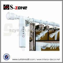 2014 new design aluminium electric curtain rod/curtain pole