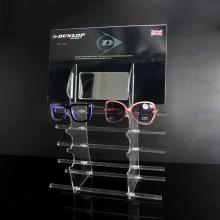 Schaufensterständer aus Acryl für Brillen