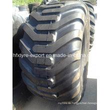 Forstwirtschaft Reifen 750/55-26,5 710/45-22.5 Flotation-Reifen mit bester Qualität, DOT ECE ISO Gcc verfügbar