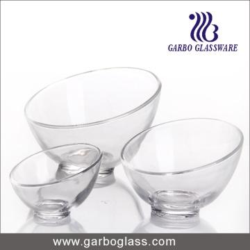 Bain de noix de verre créatif à bouche inclinée