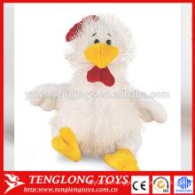 Presente promocional para 2017 recheado assento galo brinquedo