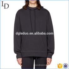 Hot sale mens 100% cotton hoodies Front pocket sweatshirts
