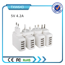 4 USB 5V 4.2A Chargeur USB universel