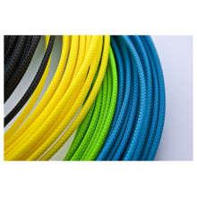 Manchon de câble extensible tressé coloré
