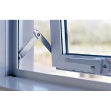 Royal Ivory Powder Coat Double Glass Aluminum Doors and Windows