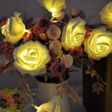 Battery String Light Rose Flower Style