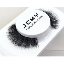wholesale 100% human hair eyelashes false eyelash human hair eyelashes