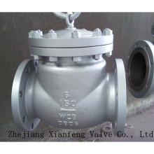 Vanne de retenue de finition à bride en fonte d'acier 150lb / 300lb / 600lb / 900lb / 1500lb