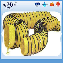 Insulated flexible pvc duct hose for mechanical ventilation