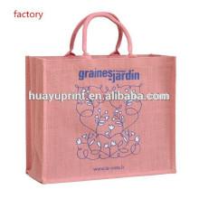 Sac à provisions recyle / sac à bandoulière / sac à jute AT-1051