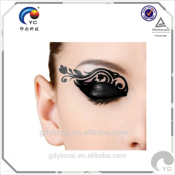 Обожая наклейки для глаз на лицо,партия мода стикер татуировки временные водонепроницаемый печать