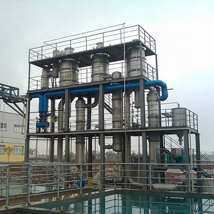 Long Tube Evaporator With Forced Circulation